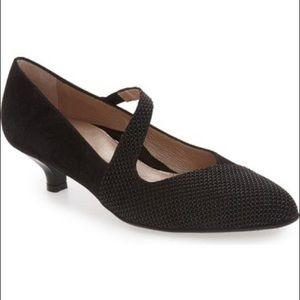 Beautifeel Lilou Suede Black Heels Size 39